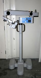 Zeiss Opmi 1 Fc Ent Surgical Microscope On Zeiss S21 Stand