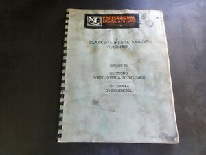 Clark waukesha Engine Overhaul Manual Group 00