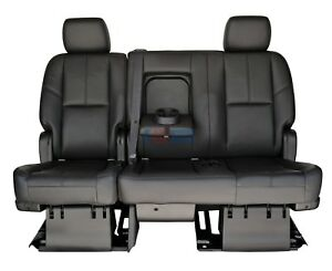 2011 2012 2013 2014 Suburban 2nd Row 60 40 Bench Seat Black Leather