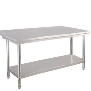 30 x48 Stainless Steel Commercial Kitchen Work Food Prep Table Desk Workstation