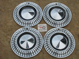 1962 Plymouth Valiant Signet 1970 72 Amc Gremlin 13 Wheel Covers Hubcaps 4