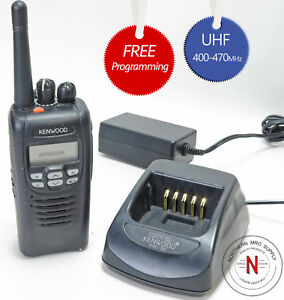 Kenwood Nx 300 k2 Nexedge Uhf Digital Fm Portable Radio 400 470 Mhz 5w