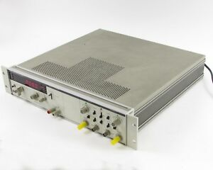 Hp Agilent 5328a Universal Counter 100mhz W Opt 011 Hp ib Interface
