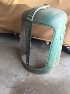 1948 Oliver Streamlined Old Style 88 Tractor Front Grill Nose Cone Farm Tractor