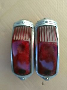1941 Cadillac Tail Lights Pair 41 Tailight Pr