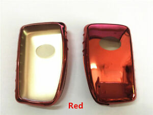 1pcs Red Tpu Car Remote Key Cover Protective Case Trim Fit For Rx Nx Is Rc Ls Gs