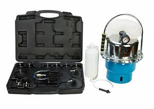 Professional Pneumatic Air Pressure Bleeder Bleed Brake Clutch System Garage Set