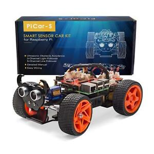 Sunfounder Raspberry Pi Car Diy Robot Kit For Kids And Adults Visual