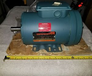 Reliance Sxt 1hp 3phase Electric Motor