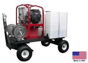 Pressure Washer Commercial Hot Cold Steam 5 Gpm 3000 Psi Atv utv