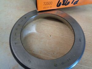 Timken 72500 Tapered Roller Bearing Single Cup outer Ring