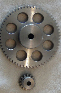 Stepper Gear 4 To 1 Rack Pinion Cnc Router Plasma Stronger Than Belt Drive