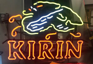 Neon Sign kirin Japanese Beer 8822 Tavern Man Cave Convenience Store Pub