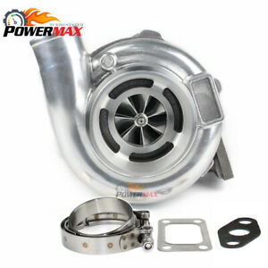 Gt30 Gtx3071 Billet Wheel Turbo 1 06 A r Vband T3 Turbine Housing Flange Clamp