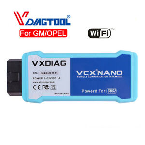 Vxdiag Vcx Nano For Gm opel Diagnostic Tool Tech2 Win Scanner Wifi Version