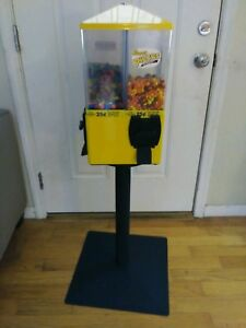 U Turn 4 Selection Gumball bulk Candy Machine Best Price No Lock