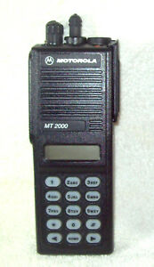 Motorola Mt2000 Vhf 136 178mhz 160 Channel 5 Watt Portable Radio H01kdh9aa7an 2