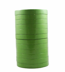 12 Rolls Of 3m 26334 3 4 Inch 233 Green Masking Tape