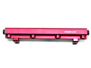 Obx Racing Sports Red Aluminum Fuel Rail For 03 04 Dodge Neon Srt 4