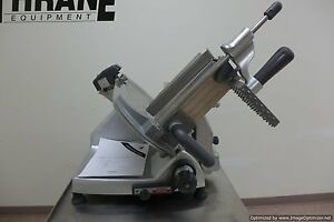 Hobart 2812 12 Manual Meat Cheese Deli Slicer Butcher Turkey With Sharpener Nsf