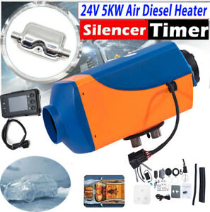 Air Diesel Fuel Heater Lcd Monitor Set For Truck Boat Bus Car Housing Us 5kw 24v
