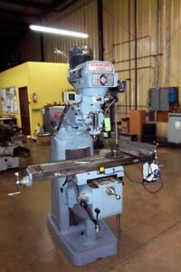 Clausing Kondia 9 X 48 Vertical Milling Machine