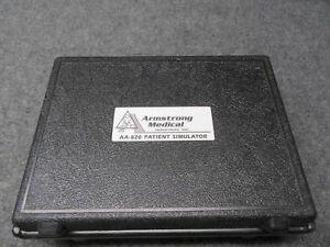 Vintage Armstrong Medical Aa 820 Patient Simulator Laboratory Equipment tested