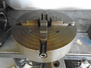 Skinner 10 4 jaw Chuck 4210 Threaded Spindle Mount