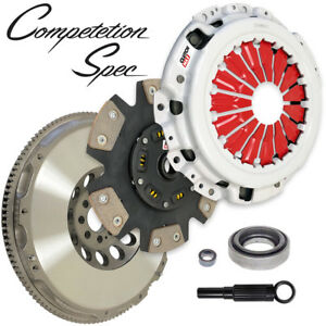 Cm Competition spec Racing Clutch Solid Race Flywheel Kit For 03 06 Nissan 350z