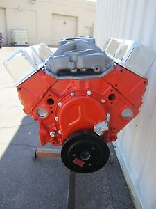 400 Hp 383 Chevy Stroker Engine Motor With New Cast Iron High Flow Heads