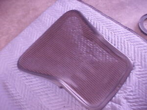 Used Herman Miller Seat Back Size B With Mesh For Aeron Chair With 4 Screws