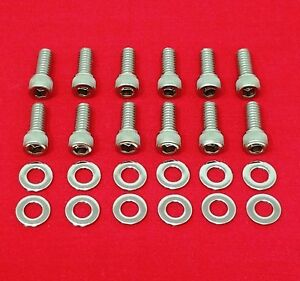 Sbf Valve Cover Bolts Kit Stainless Steel Allen Small Block Ford 289 302 351w