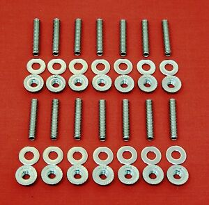Big Block Chevy Gm 396 402 427 454 502 Stainless Steel Valve Cover Stud Bolt Kit