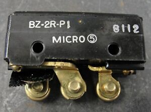 Honeywell Micro Switch Bz 2r p1 New Old Stock