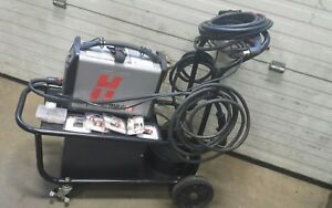 Hypertherm Powermax45 Plasma Cutter With 2 Torches And Consumables With Cart