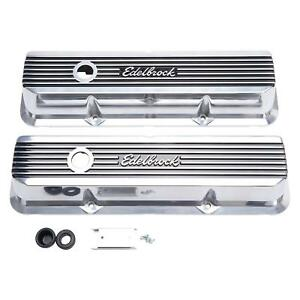 Edelbrock 4277 Elite Ii Valve Covers B b Ford