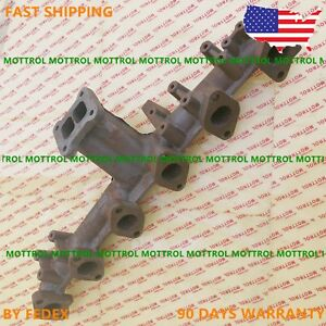 6d105 S6d105 Exhaust Manifold Fits Komatsu Pc200 3 Pc220 3 new free Shipping