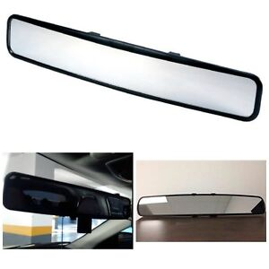 Clip on Rear View Mirror Wide Angle Fit System Universal Replacement Mirror