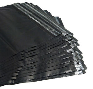 Wholesale Black Poly Mailers Shipping Envelopes Self Sealing Plastic Mailing Bag
