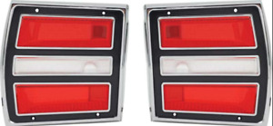 Oer Ma8171 1968 Mopar Dodge Dart Tail Lamp Assembly Set
