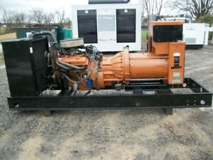 65 Kw Generac Open Or Enclosed Single Phase Natural Gas Or Propane Generator Set