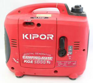 Kipor Kge 1300tc Electric Generator Portable Suit Case Power Camping Mate