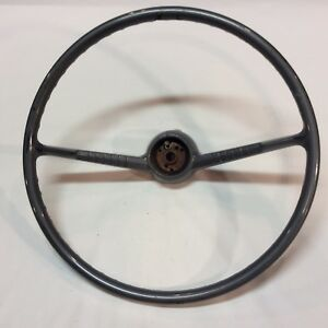 1955 1956 Chevy Delray 210 Steering Wheel Original Vintage