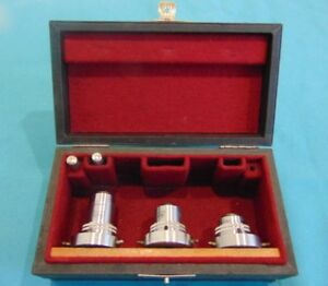 E Leitz Microscope Objective Pol P 6 0 15 P8 0 18 p Fl45 0 85 Set Of 3obj
