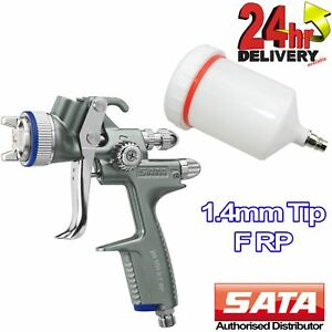 Sata Jet 100 B F Rp Nozzle 1 4mm Filler Primer Spray Gun 0 6l Reusable Cup