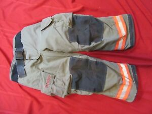 2008 Globe G xtreme Firefighter Bunker Turnout Pants 36 X 28 Thermal Liner