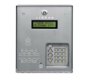 Ae 100 Telephone Entry System Linear Pro Access Control F Gate Apartment 125