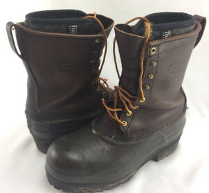 Men s Hoffman Work Boots Size 10 Di Electric Approved 20 000 Kvac Thinsulate