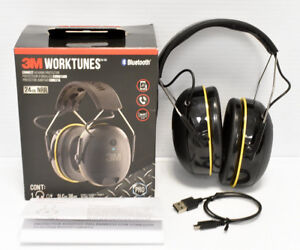 3m Worktunes 24db Nrr Hearing Protector Bluetooth
