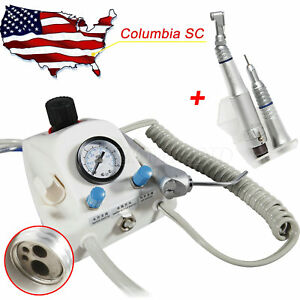 Usa Dental Portable Turbine Air Water Syringe Low Speed Handpiece Midwest 4h